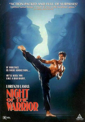 Night Of The Warrior DVD Lorenzo Lamas New And Sealed Plays Worldwide NTSC 0 • 7.14£