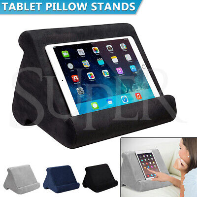 AU14.99 • Buy Tablet Pillow Stands For IPad Book Reader Holder Rest Laps Reading Soft Cushion