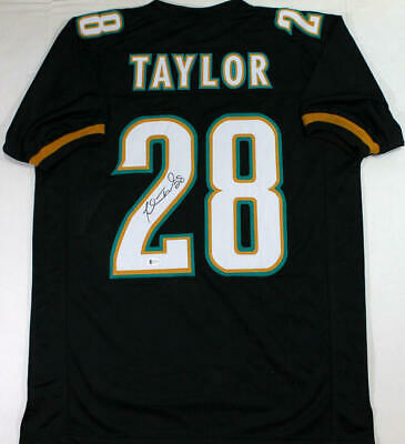 $ CDN149.13 • Buy Fred Taylor Autographed Black Pro Style Jersey - Beckett W Auth *2