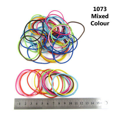 $ CDN4.30 • Buy Skinny Mixed Colour Hair Bobbles Party Accessories Girls Women Snag Free Soft