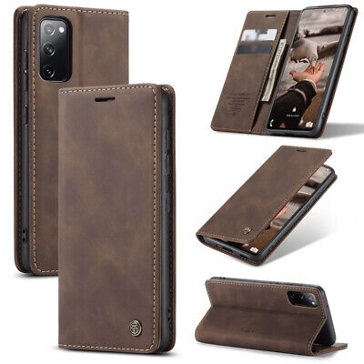 $ CDN10.37 • Buy For Samsung Galaxy Note 20 Ultra S20 FE A21S A71 Leather Wallet Flip Case Cover