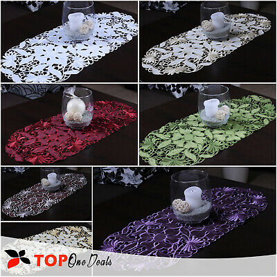AU12.96 • Buy Amazing Oval Table Runners Tablecloths Dining Living Room Table Decorations