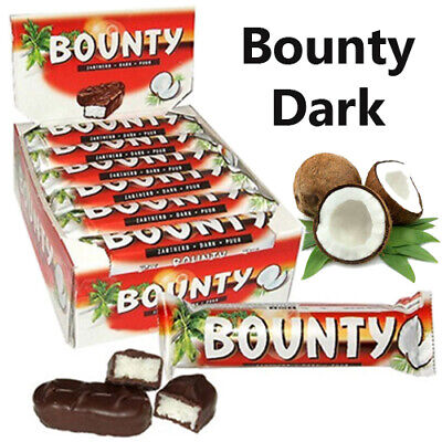 BOUNTY Dark Chocolate 57g Gift Hamper Birthday Box • 15.99£