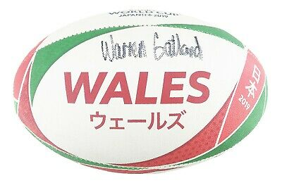 £499.99 • Buy Signed Warren Gatland Rugby Ball - Wales Rugby Icon +COA