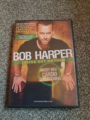 Bob Harper Inside Out Method Body Rev Cardio Conditioning Dvd Region 1  • 8£