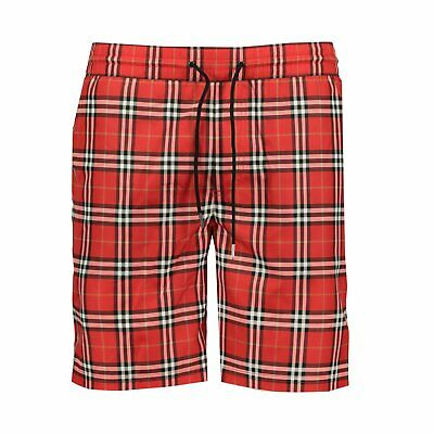 $213.96 • Buy Burberry Vintage Check Drawcord Swim Shorts Red