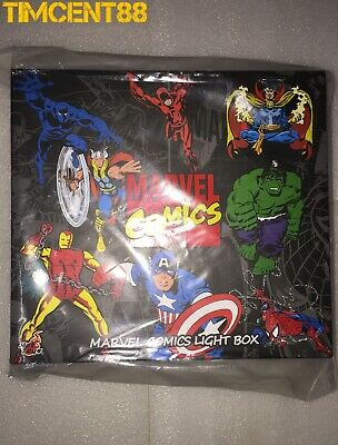$ CDN174.72 • Buy Ready! Hot Toys Marvel Comics Light Box