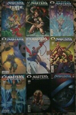 $19.99 • Buy He-Man Masters Of The Universe Image Comics Book Lot Of 9 Issues AVERAGE NM/VF