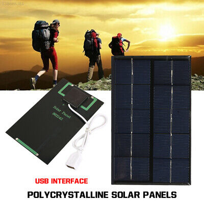 5V 5W Portable Solar Panel DIY Charger Power Bank USB For Iphone 8 Samsung 2A8D • 7.08£