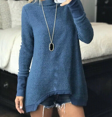 $ CDN44.58 • Buy ANTHROPOLOGIE Postmark Inari Knit Thermal Top Sweater Mock Neck Pullover Size S
