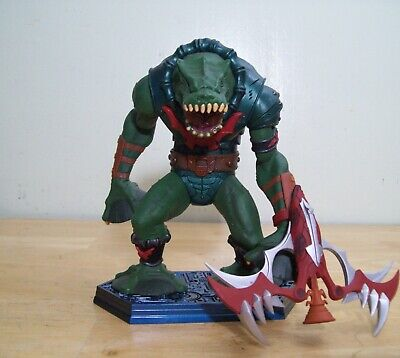 $90 • Buy Masters Of The Universe 200x Leech Neca Staction REPAIRED Mini Statue Evil Horde