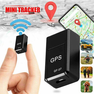 AU8.87 • Buy Mini GF-07 Magnetic Car Vehicle GSM GPRS GPS Tracker Locator Real Time Tracking
