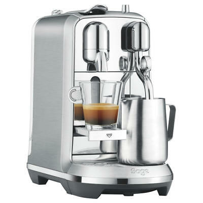 View Details Sage Nespresso Creatista Plus Coffee Maker With Automatic Steam Milk Wand Silver • 379.00£