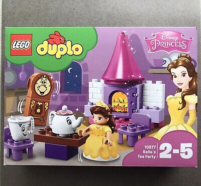 AU57.95 • Buy LEGO® DUPLO® 10877 Belle´s Tea Party Brand New! Sealed