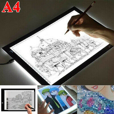 £10.99 • Buy 1x A4 LED Light Pad For Diamond Painting USB Powered Light Board + USB Cable UK