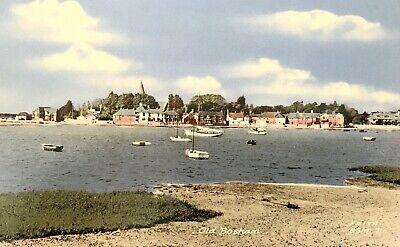 Frith's Postcard Old Bosham, Chichester, West Sussex 1950s • 1.75£