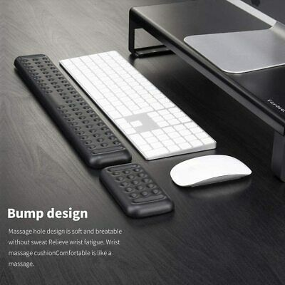 AU29.79 • Buy NEW Keyboard And Mouse Wrist Rest Support Pad Set For PC Laptop Working Gaming
