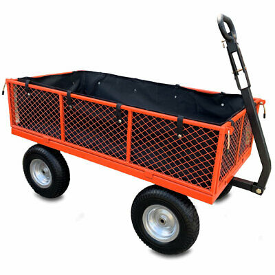 £154.99 • Buy Sherpa Large Utility Garden Cart With Puncture Proof Tyres And Liner 450KG