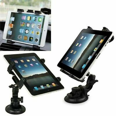 Car Mount Windscreen Dashboard Suction Holder For 7-11  IPads, Samsung Tablets • 9.99£