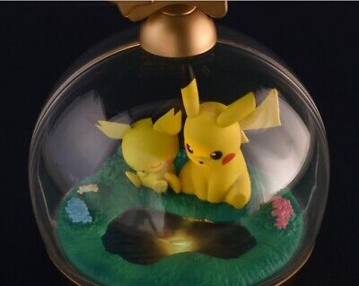 Pokemon Pocket Monster  Premium Rantan Ball Pikachu Pichu Figure Light • 21.51£