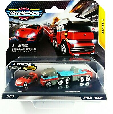 Micro Machines Race Team Series 1 #3 New And Sealed Hasbro 2020 • 13.95£