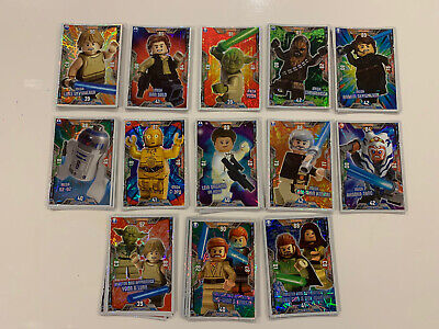 Lego Star Wars Cards Series 2: Foil Cards • 1£