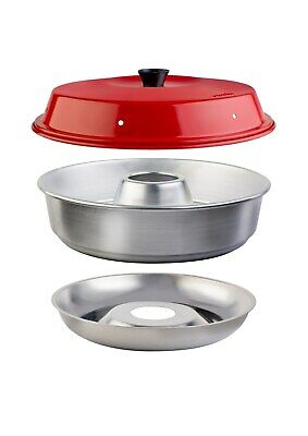 £57.55 • Buy Value Pack 3-tlg Omnia Oven Camping Mini Oven Silicone Baking Aufbackgitter