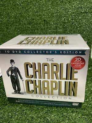 The Charlie Chaplin Collector's Box Set 10 DVD 36 Films 20 Hours - NEW & SEALED • 27.99£