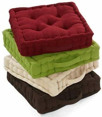 £12.99 • Buy  Chunky Garden Dining Chair Armchair Booster Cotton Cushion Thick Seat Pads
