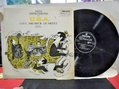 Dave Brubeck Quartet  Jazz Impressions Of The Usa  Uk Philips Ex+ Cond.in Ex-sl. • 5.95£