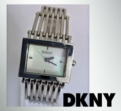 DKNY NY4109 By Fossil  Women's Quartz Watch Mother Of Pearl Face Stainless Steel • 23£