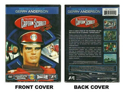 New Captain Scarlet: The Complete Series [Region B] [Blu-ray] - DVD - New • 19.46£