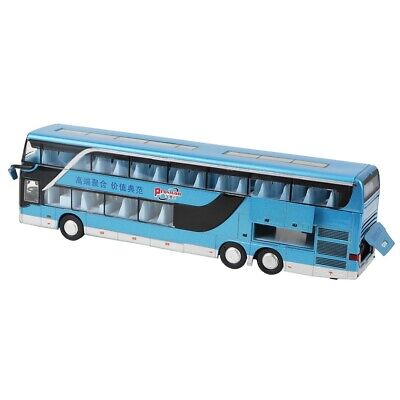 $ CDN35.70 • Buy Electric 1:50 Alloy Double-decker Bus Model Toy With Light Music For Chil