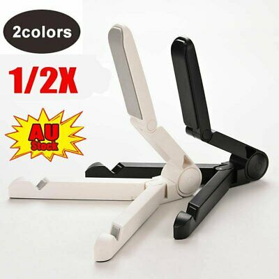 AU10.75 • Buy 1/2X Universal Tablet Bracket Lazy Pad Stand Holder For IPad Folding Support NW