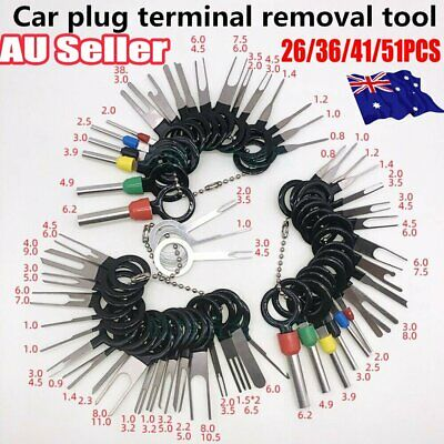 AU15.96 • Buy 59Pcs Set Pin Ejector Wire Kit Extractor Auto Terminal Removal Connector Tool NW
