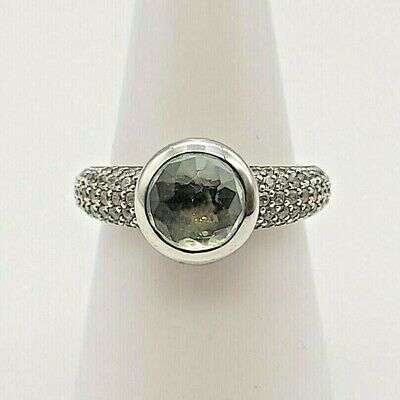 £39.95 • Buy A Lovely TI SENTO Silver 925 Ring With Cubic Zirconia