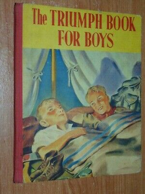 The Triumph Book For Boys Press, Children's  Published By The Children's Press,  • 18.27£