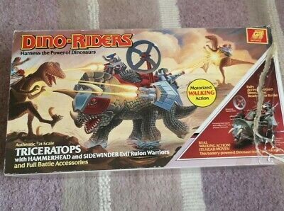 Vintage Tyco Dino Riders Triceratops Inners And Sleeve Beauty ! • 350£