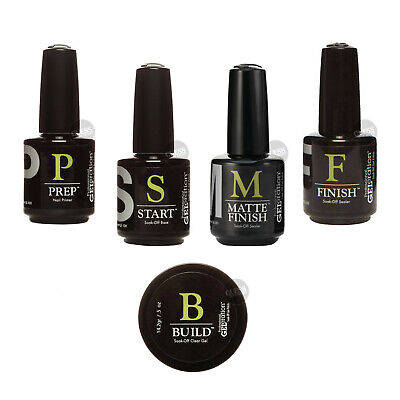 JESSICA GELeration BUILD PREP START MATTE FINISH Soak Off Gel Nail Polish 15 ML • 16.95£