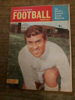 £3 • Buy Charles Buchan's Football Monthly - October 1964