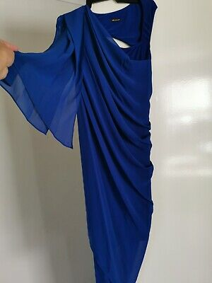 AU80 • Buy Stunning Blue Carla Zampatti Dress Size 6