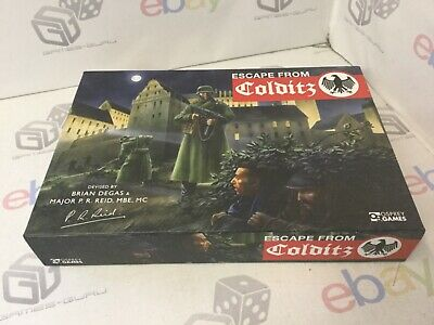 ESCAPE FROM COLDITZ - Board Game (Osprey Edition, 2016, Unplayed And Unpunched) • 49.95£
