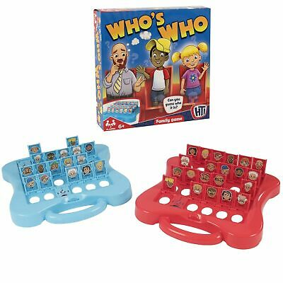 £8.39 • Buy HTI Traditional Board Games - Who's Who - Fun For All Kids, Families - Ages 6 +