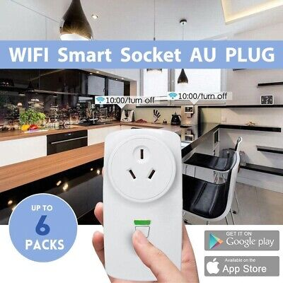 AU16.89 • Buy Wifi Wireless Smart Socket Remote Outlet Switch AU Plug For ECHO ALEXA GOOGLE