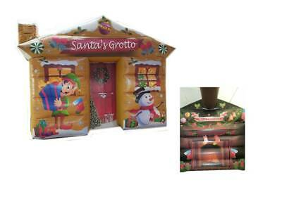 Inflatable  Santas Grotto For Sale  Brand New 12ftx12ft  FREE FAN • 999£