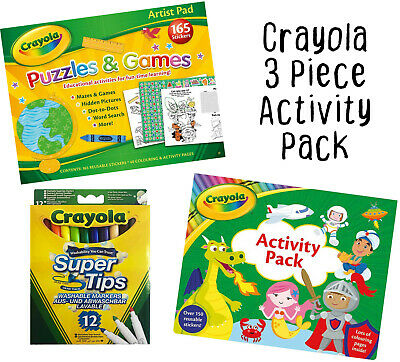 £13.49 • Buy Crayola Colouring Activity Pack - Kids Toddler Childrens Colouring Set