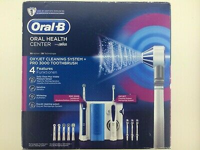 AU142.41 • Buy Oral-B Oral Health Centre - Oral-B OxyJet Cleaning System + Oral-B PRO 3000