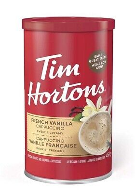 £15.99 • Buy Brand New Tim Hortons French Vanilla Cappuccino Speciality 454g Best Seller