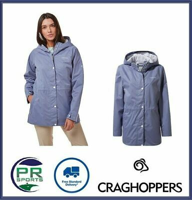New Craghoppers Womens Outdoor Winter Adriana Jacket Waterproof Breathable Long • 44.99£