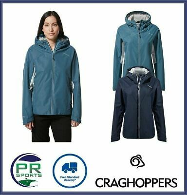 New Craghoppers Womens Outdoor Winter Horizon Jacket Waterproof Breathable • 25.99£